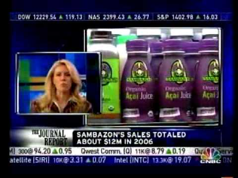Sambazon Organic Amazon Superfood on CNBC