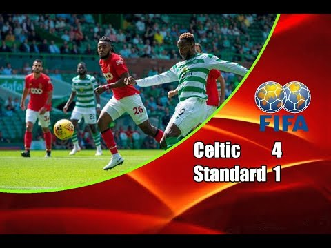 Celtic - Standard Liège 4-1 14-07-2018 Highlights Friendly