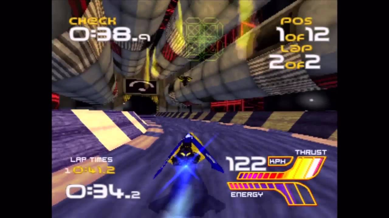 Wipeout XL (PS1) Gameplay - YouTube