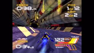Wipeout XL (PS1) Gameplay