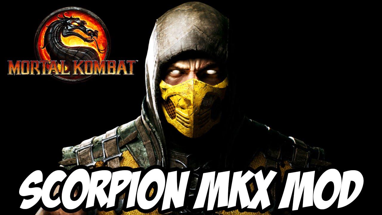 Mortal Kombat 9 - Scorpion MKX MOD