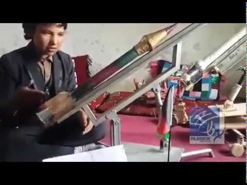 A 15 year old Afghan boy has made missile.