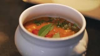 Kaszubska zupa rakowa inspirowana Paulem Bocuse / Kashubian crayfish soup inspired by Paul Bocuse