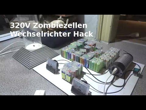 Strom erzeugen und speichern - 320V Wechselrichterhack