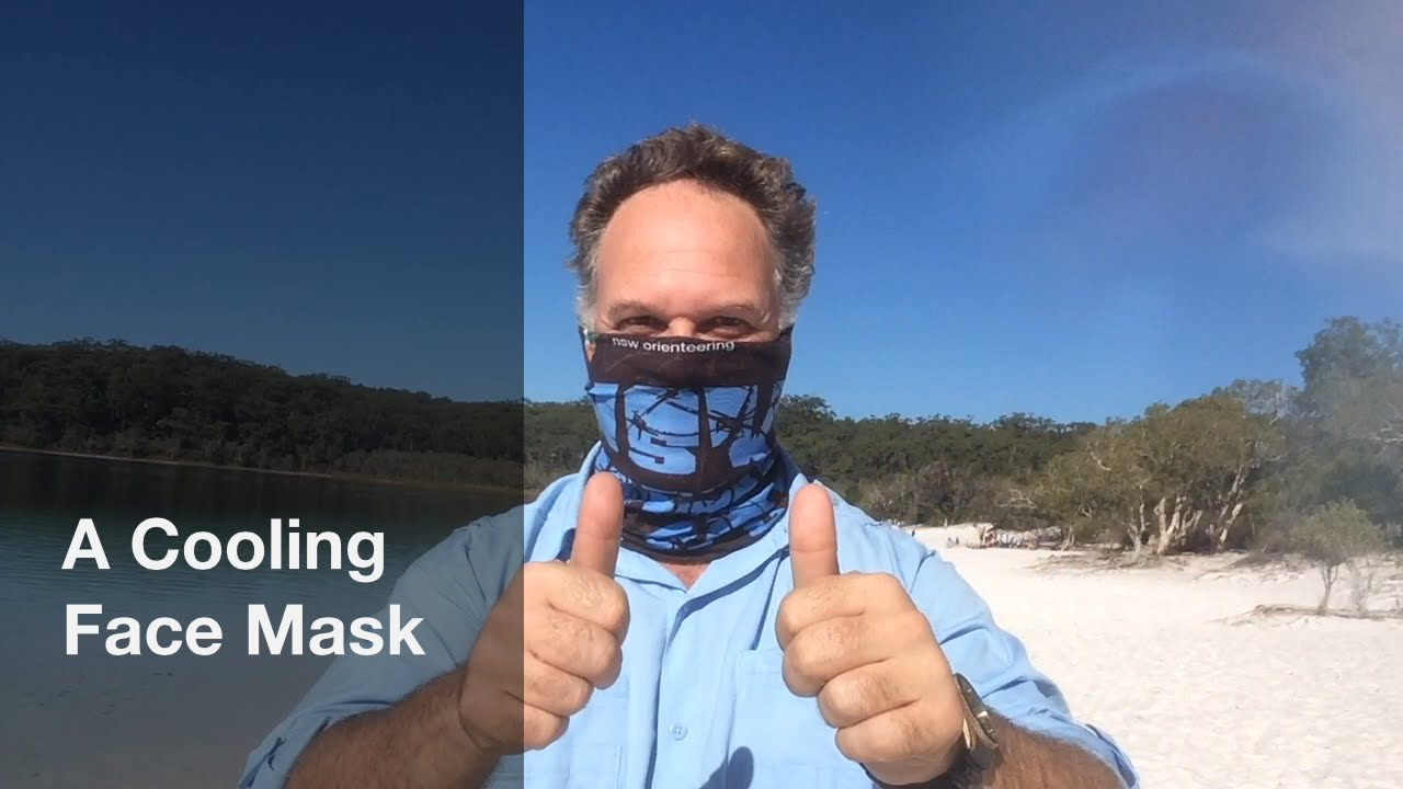 avance pérdida dinastía  How to create a cooling face mask using a Buff® - YouTube