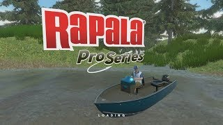 Rapala Fishing Pro Series Gameplay  :  The Smallies Are Biting