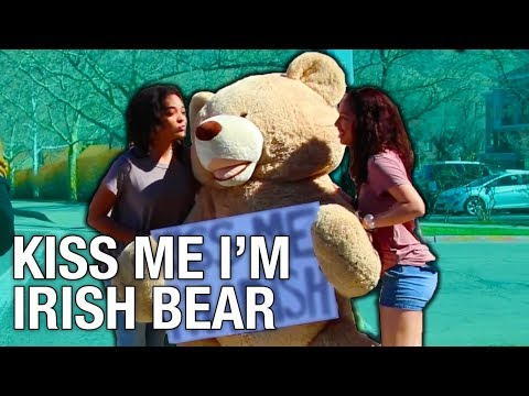 Make Kiss Me Im Irish Bear - St. Patrick's Day Images