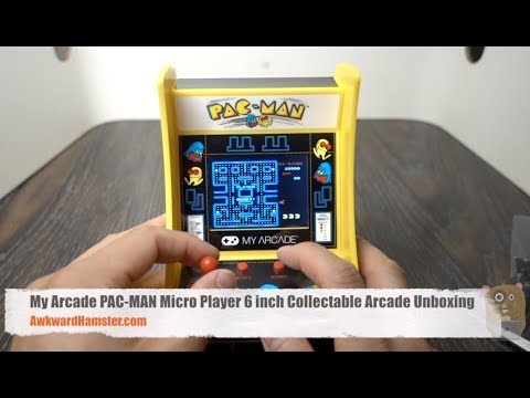 My Arcade PAC-MAN Micro Player Arcade Unboxing