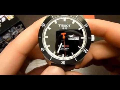 reloj tissot t sport prs 516 automatico t0444302605100. Black Bedroom Furniture Sets. Home Design Ideas