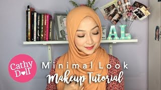 Minimal Makeup Look Tutorial feat. Cathy Doll #Ad