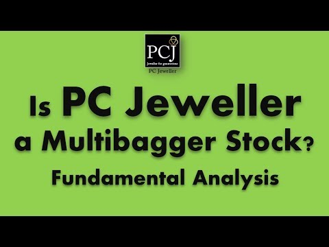 PC Jeweller Limited Fundamental Analysis | Is PC Jeweller a Multibagger Stock at current levels?