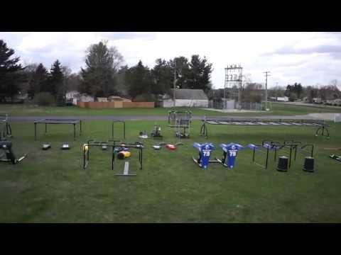 Rogers Athletic Football Training Equipment