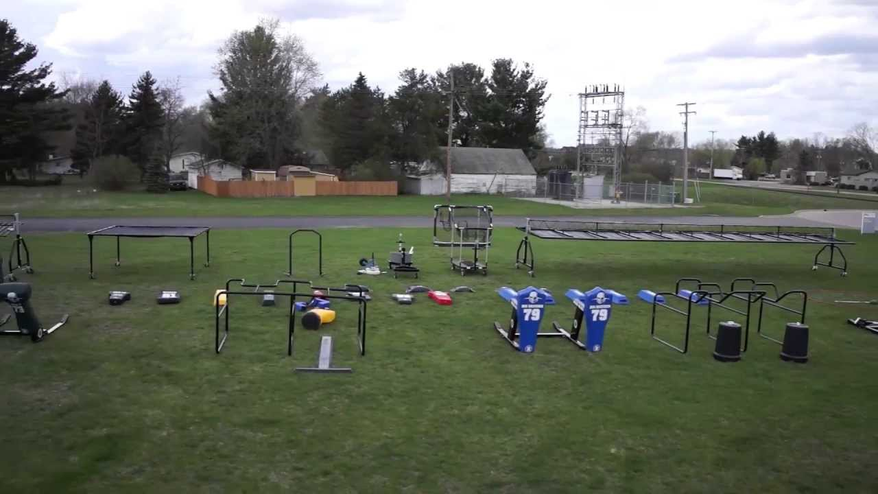 Rogers Athletic Football Training Equipment