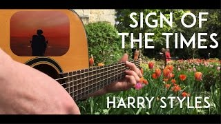 Sign of the Times   Harry Styles   Fingerstyle Guitar Cover Free Tabs