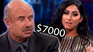 Dr Phil Spoiled Teen Spends $7000 monthly on her looks ( Deleted PewDiePie Video )