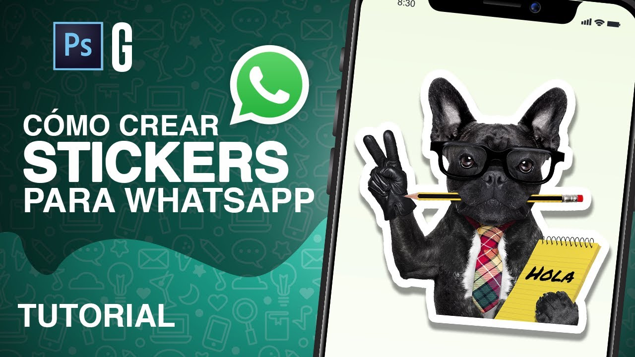 Photoshop Tutorial Crea Tus Propios Stickers De Whatsapp Create Your Own Stickers Youtube