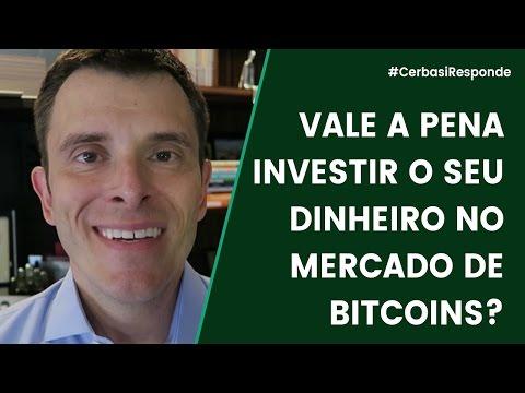 Vale a pena investir em bitcoins? - #CerbasiResponde