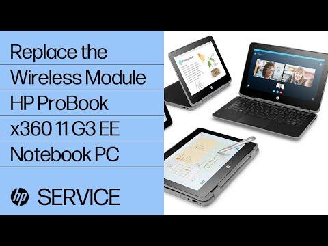 Replace the Wireless Module   HP ProBook x360 11 G3 EE Notebook PC   HP