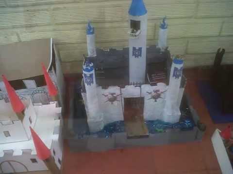 exposici n de maquetas de castillos   youtube