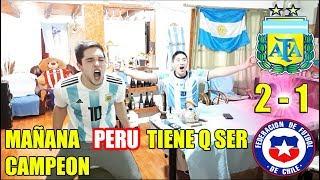 ARGENTINA 2 CHILE 1 | REACCIONES DE HINCHAS ARGENTINOS | COPA AMÉRICA 2019