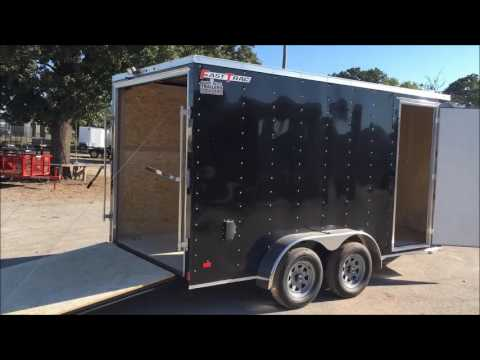 Nort Texas Trailers Wells Cargo Fast Track 7X14
