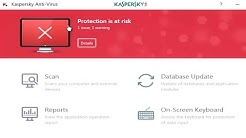 How To Completely Delete Computer Virus Using Update Kaspersky® Antivirus 2017 (NEPAL)