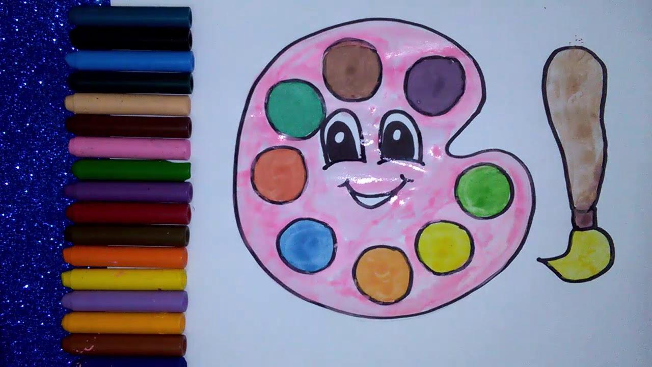رسومات بسيطة وجميلة تعلم الرسم للأطفال تعلم رسم علبة ألوان
