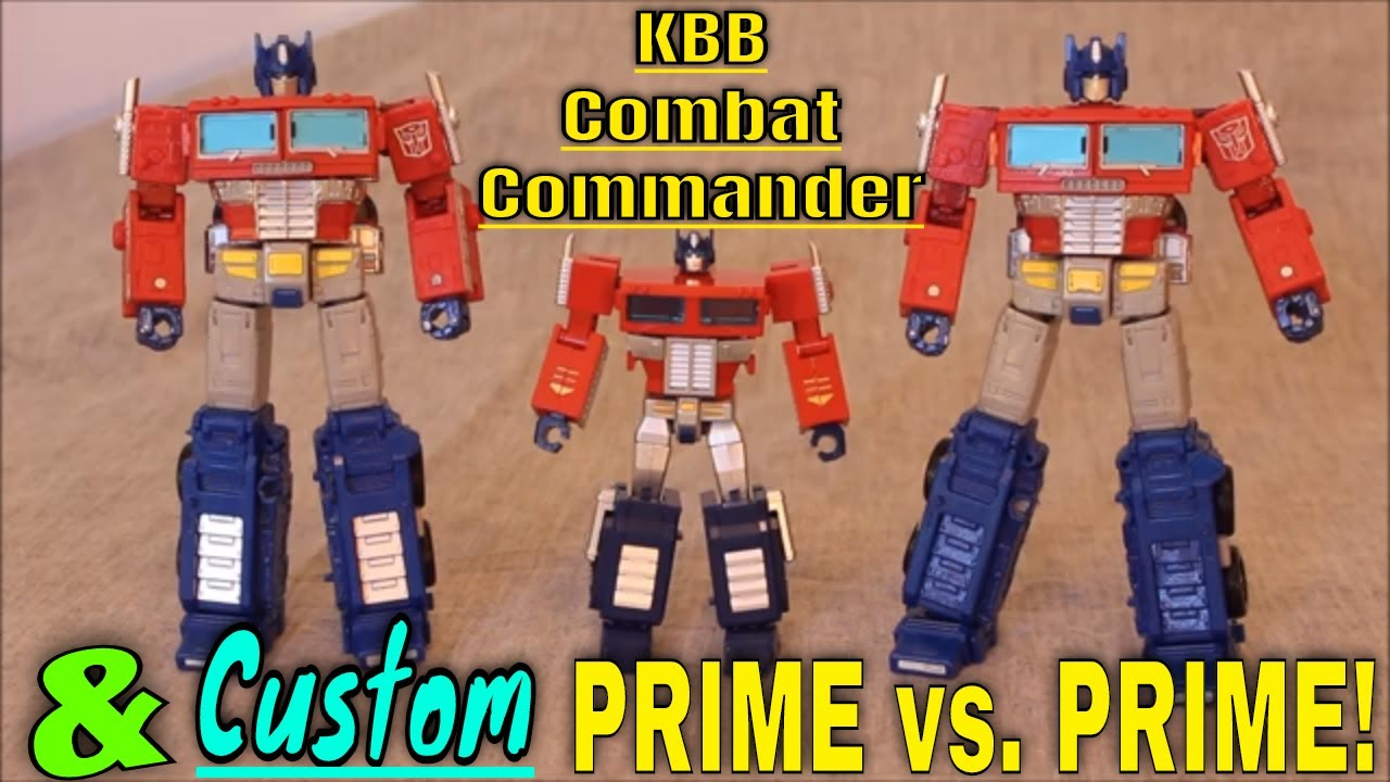KBB Combat Commander and UPDATE to Custom ER Primes!
