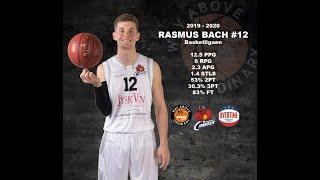 Rasmus Bach Basketball | Highlights 2019-2020 season