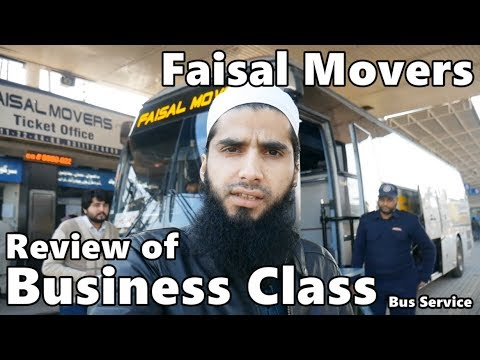 Travel Log 4 : Review of Faisal Movers Business Class Bus Service