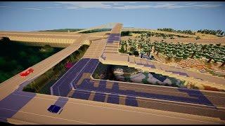 RoadWorks Minecraft Mod by W Thieves - Highway/Interstate Timelapse 2