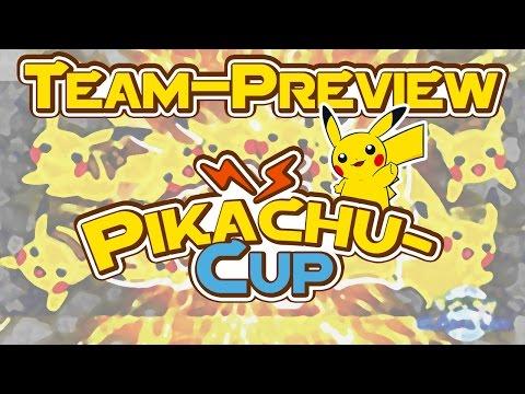 Pikachu-Cup Team-Preview - Online-Turnier - Pokémon Omega Rubin und Alpha Saphir (ΩR/αS)