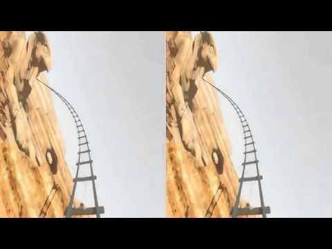 3D Roller Coaster EGYPT, HD vr