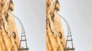 3D Roller Coaster EGYPT, HD vr