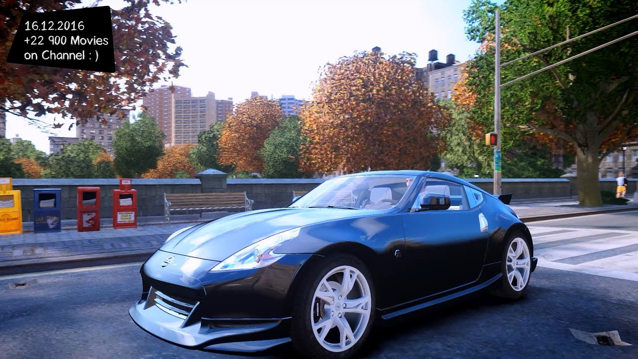 nissan 370z nismo s tune gta iv mod enb 2 7k 1440p. Black Bedroom Furniture Sets. Home Design Ideas
