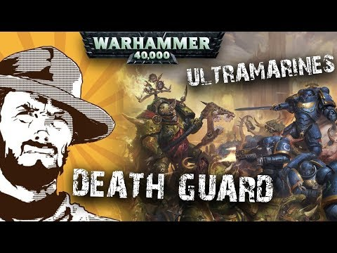 Репорт | Warhammer 40k | Ultramarines VS Death Guard | 2000 Pts | Битва за Ультрамар!