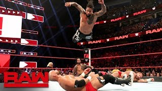 The Usos vs. The Revival: Raw Reunion, July 22, 2019