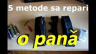 5 metode de a repara o pana la bicicleta (pe timp !)