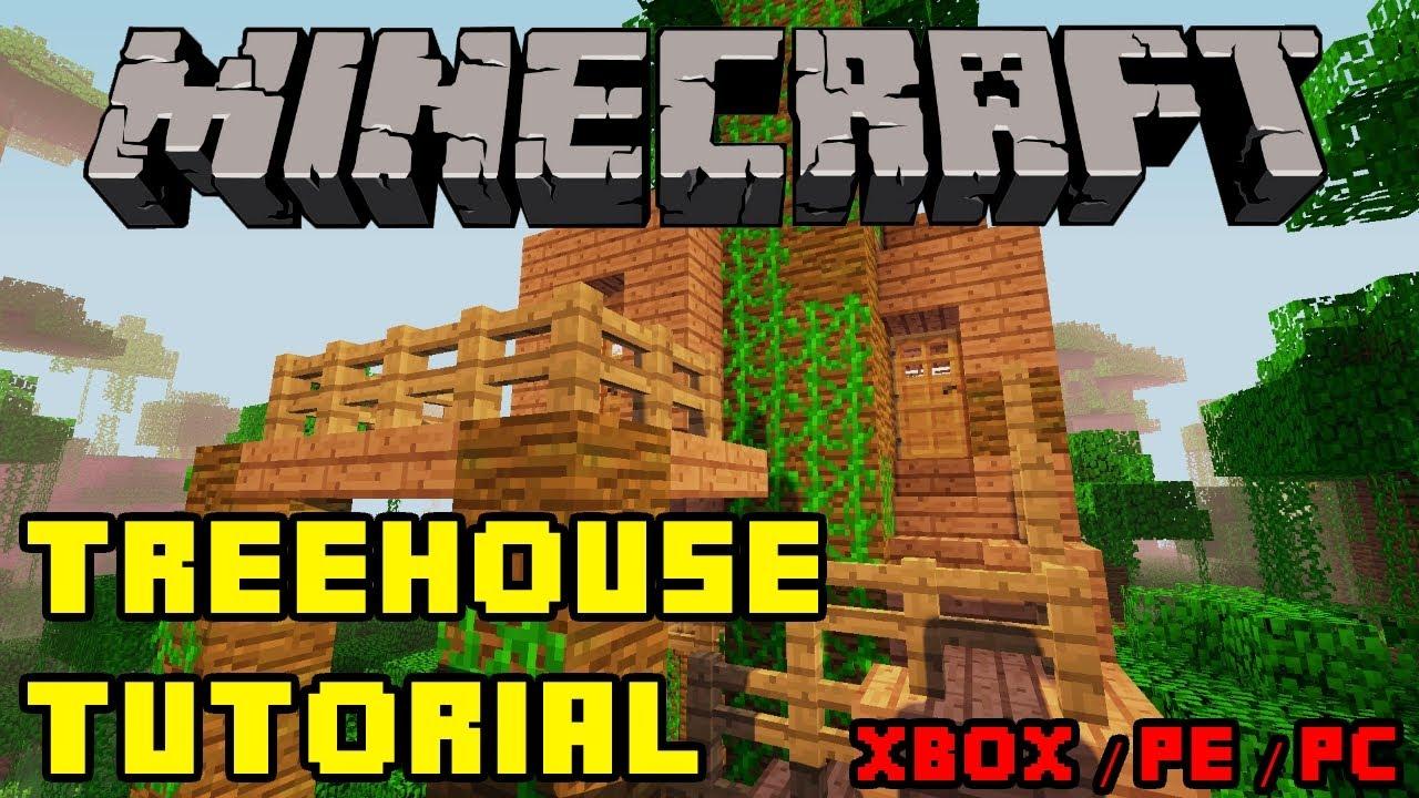 Minecraft - Treehouse Tutorial HD - Xbox/PS3/PE/PC (Quick ...