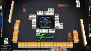 オンライン無料ゲーム 雀龍門2 ダブロン