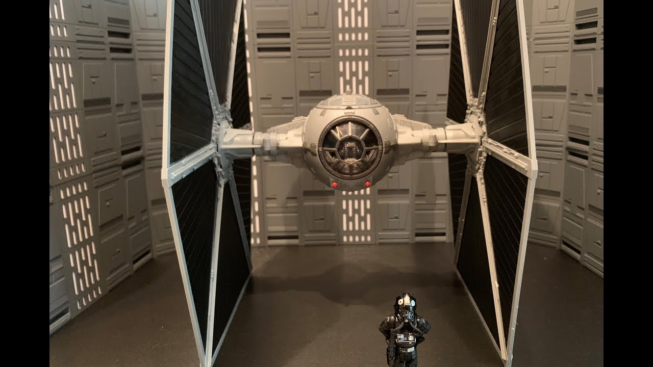 Walmart Star Wars The Vintage Collection Imperial TIE Fighter