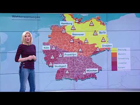 So wird das Wetter: Orkan wütet in Teilen Deutschlands, aber weiterhin mild