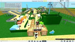 Roblox | Theme Park Tycoon 2 | EP 4 | Transporte de trem