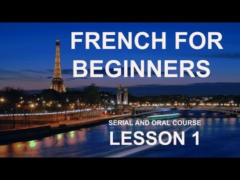 Lesson 1 - Do you want to Learn French Online for Free? Manesca French for Beginners