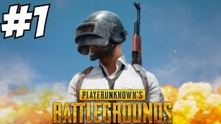 Player Unknown Battlegrounds Gameplay Walkthrough Part 1 - Road to 1st Place