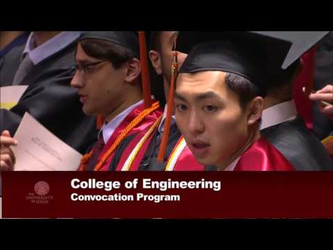 College of Engineering Convocation | 2016