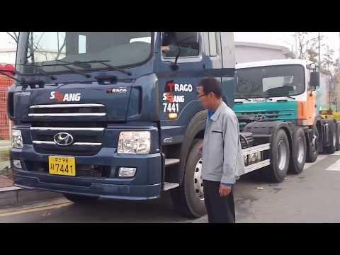 new truck Hyundai Trago 460 tractor Interior