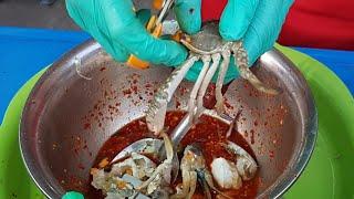 ป้ากบสวยขึ้นจริงเหรอ ป้ากบขาวขึ้นใช่ใหม ป้ากบยำ3แซบ ประจวบ Yum Spicy Seafood Salad by Pakob