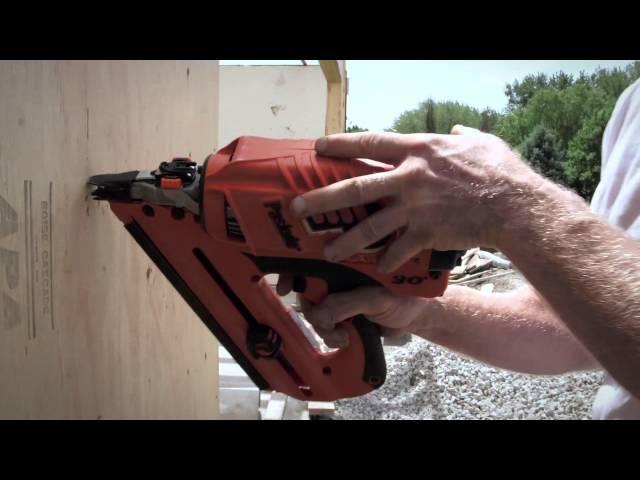 Paslode Cordless Framing Nailer - Sheathing