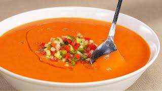 Не нужно ломать голову что готовить в жару Холодный летний суп ГАСПАЧО Рецепт от Всегда Вкусно